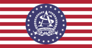 American Slaves, Inc Logo Flag