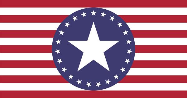 American Slaves, Inc Stars Flag