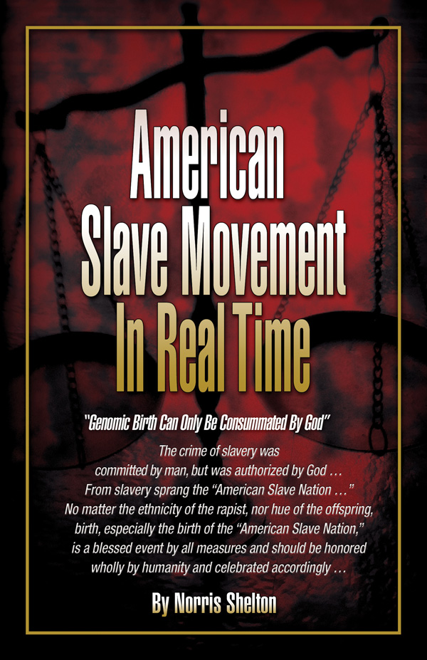 American Slave Movement In Real Time by Norris Shelton