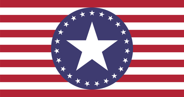 American Slaves, Inc Stars Flag