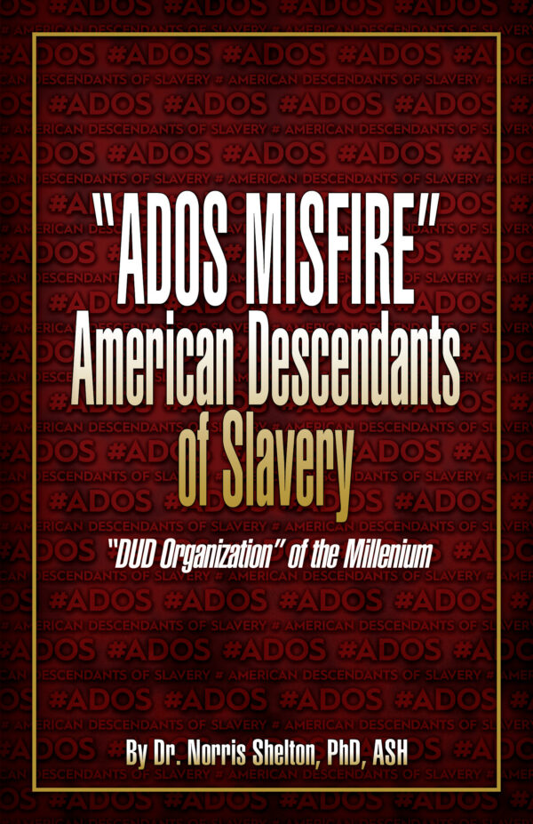 """Norris Shelton's """"ADOS Misfire"""" front cover"""